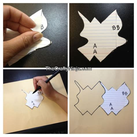 how to make a tessellation with an index card tessellation project the crafty