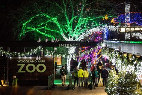 park zoo lights top 10 reasons to visit wildlights woodland park zoo