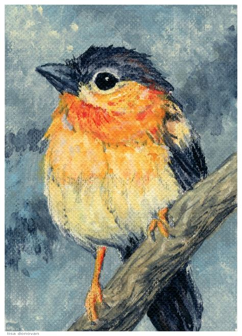 Gallery Bird Painting Acrylic