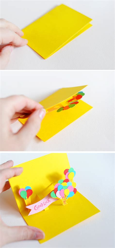 how to make an awesome pop up card diy pop up cards