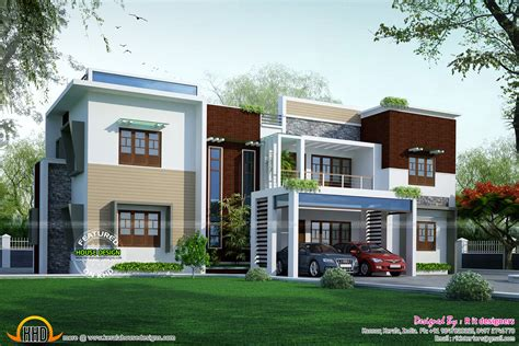 modern contemporary home plans contemporary modern house plans with flat roof home deco plans