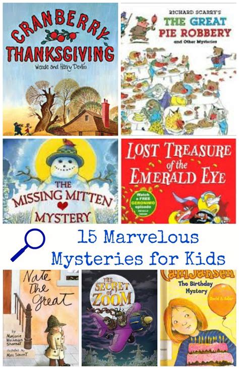 mystery picture books for be a detective 15 marvelous mystery books for