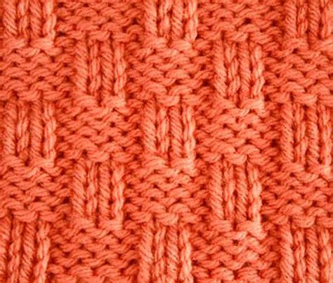 basket weave knit pattern knitting galore saturday stitch basket weave
