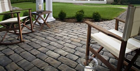 cobblestone patio pavers paving stones artificial turf installation locations