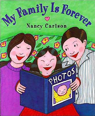 family picture book my family is forever by nancy carlson in asianweek