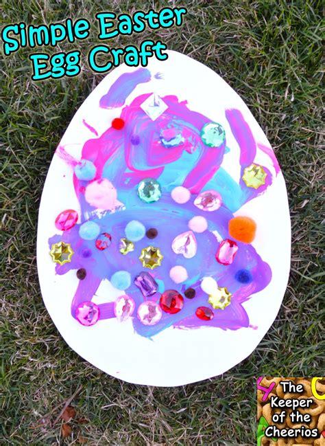 easter egg paper crafts simple easter egg paper craft