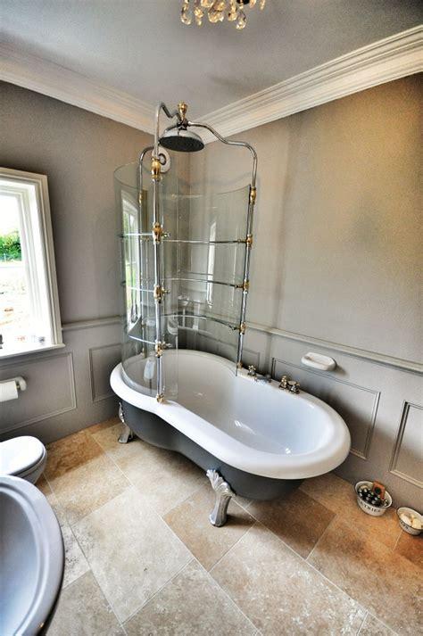 roll top bath and shower portfolio vip designer luxury bathrooms