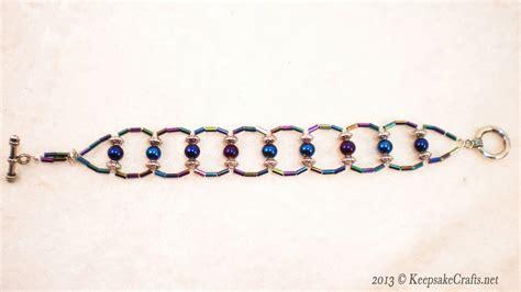 how to make a beaded ladder bracelet ladder weave beaded bracelet tutorial
