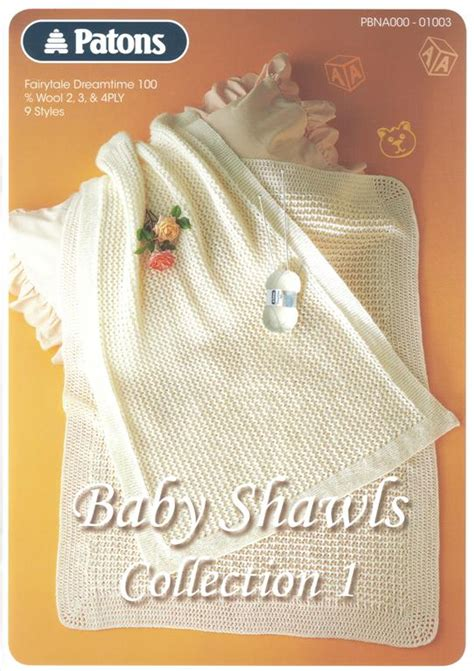 patons baby knitting books patons baby shawls collection 1 knit crochet book 1003