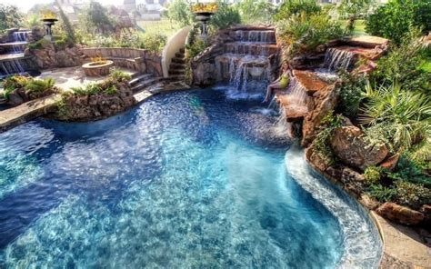 amazing backyard pools triyae most amazing backyard pools various design