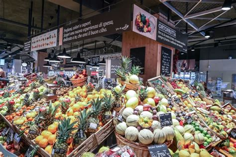 new store format in milan carrefour gourmet supermarket