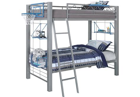 build a bunk gray 3 pc twin twin bunk bed bunk beds metal