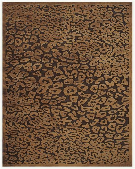 animal print rugs chocolate animal print area rug homeroom