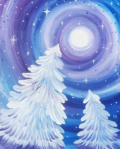 paint nite island pictures paint nite dreamy winter