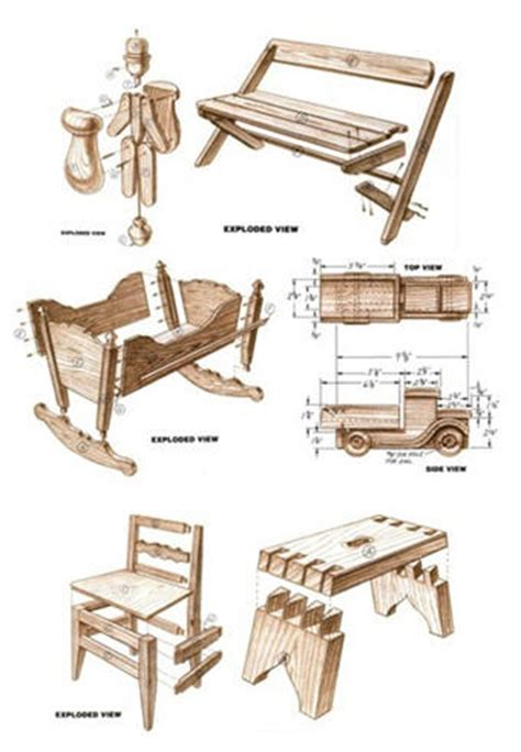 que woodwork 350 free woodcraft project plans