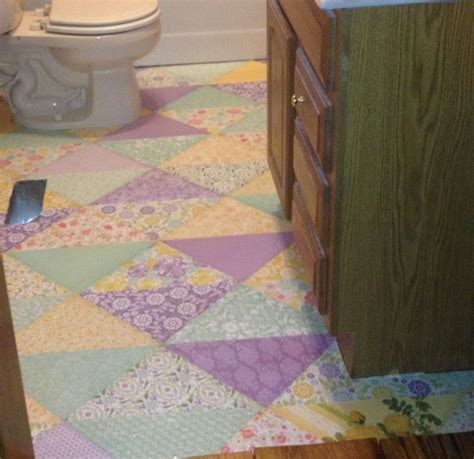 decoupage floor discover and save creative ideas