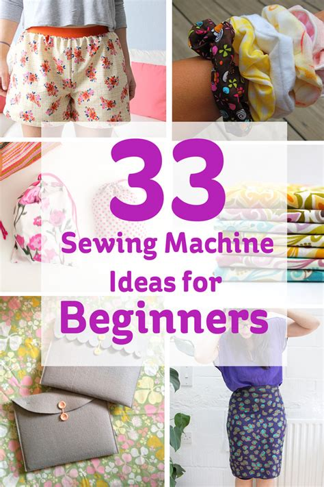 ideas for beginners 33 sewing machine ideas for beginners hobbycraft
