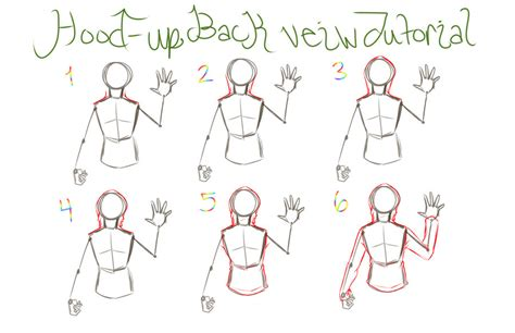 how to draw hoodies up backview hoodie tutorial by reigodric on deviantart