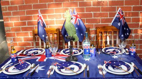 table ideas australia australia day chic ideas