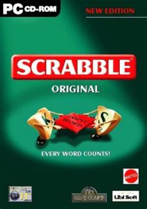 original scrabble scrabble original pc