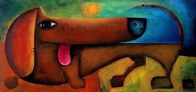 picasso paintings of dogs the and of it all a dachshund news
