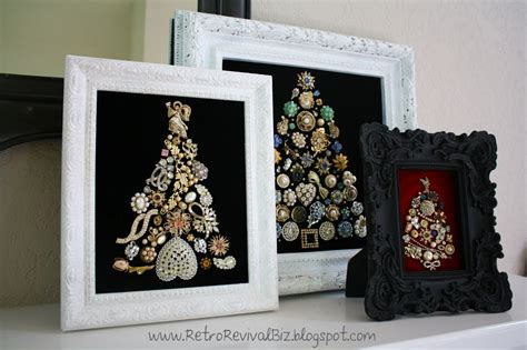 how to make a vintage jewelry tree retro revival