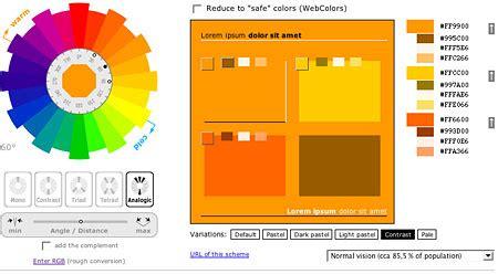 paint color scheme generator the best 28 images of paint color scheme generator car