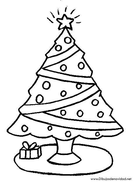 dibujos arboles navidad dibujos de navidad