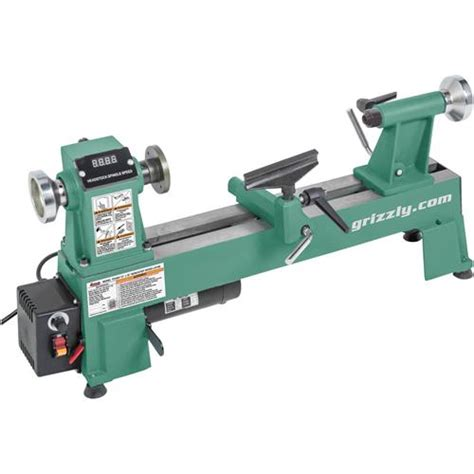 woodwork lathe 10 quot x 18 quot variable speed wood lathe grizzly industrial