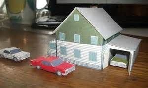 paper craft house new paper craft a paper model house for diorama ver 2