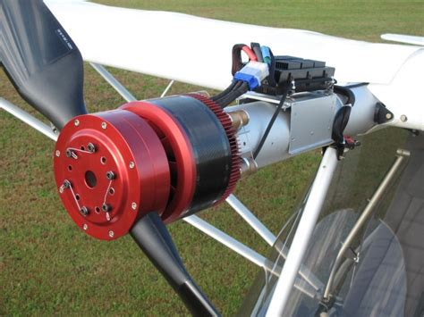 Electric Plane Motor by Exclusive We Fly An Electric Airplane Wired