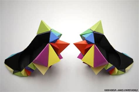 colorful origami colorful origami shoes for the who has everything