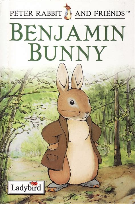 rabbits picture book benjamin bunny ladybird book rabbit and friends