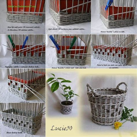 useful paper crafts best 20 paper basket ideas on recycle paper