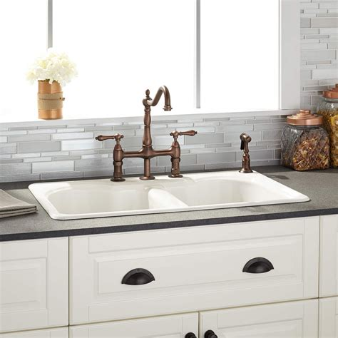 reviews of kitchen sinks cast iron kitchen sinks reviews sinks ideas