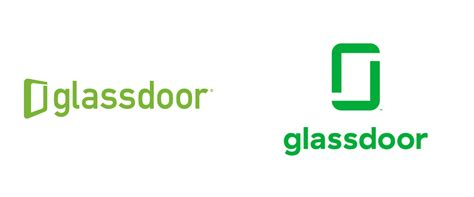 glass door brand new new logo for glassdoor