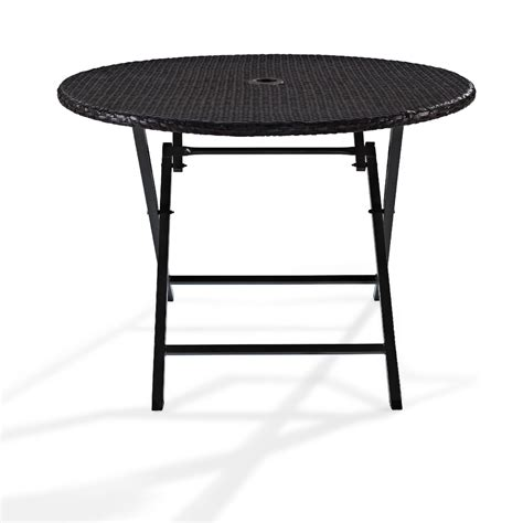 folding patio table lifetime 48 in folding table outdoor living