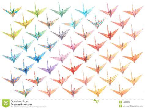 origami crane pattern origami cranes pattern royalty free stock image image