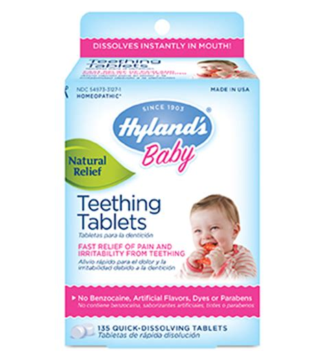 Hyland S Baby Teething Tablets Hyland S Homeopathic