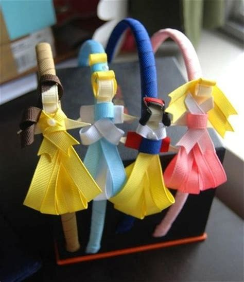 disney craft projects disney princess hair bands crafts dump a day