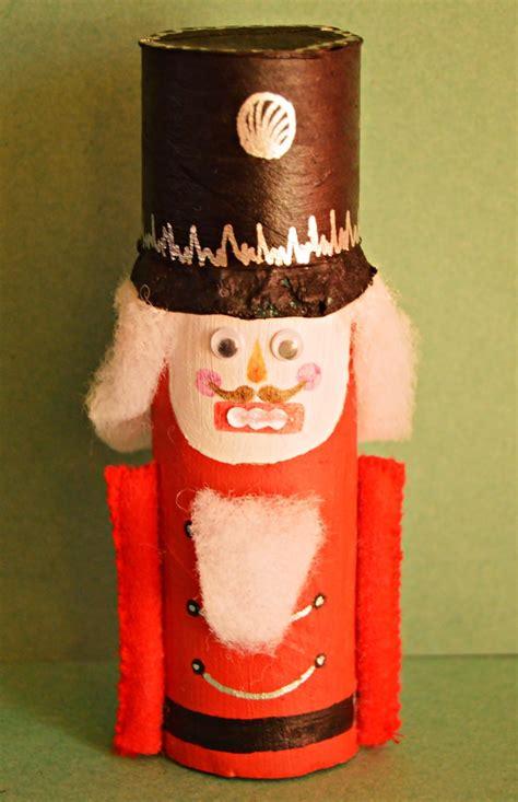 nutcracker crafts for nutcracker toilet paper roll craft
