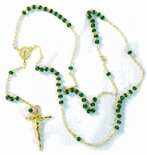 luminous rosary rosary from italy with free vatican postcard and