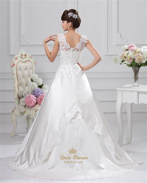 wedding dress beaded straps beaded ivory a line sweetheart wedding dress with straps