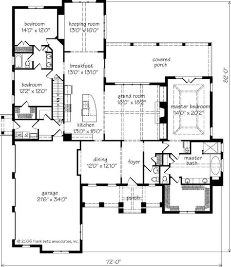 southern living floor plans magnolia springs frank betz associates inc southern living house plans