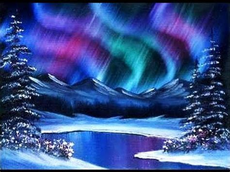 acrylic painting to light or light to beginners learn to paint acrylic borealis