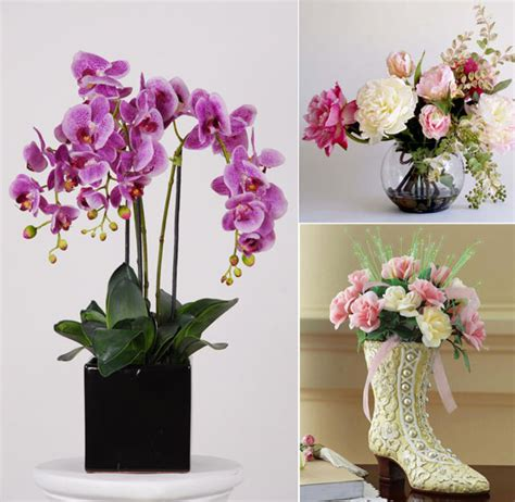 flower home decoration beautiful artificial silk flowers arrangements for home