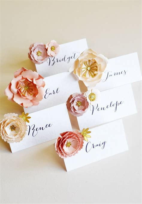 how to make table name cards best 25 name cards ideas on name place cards