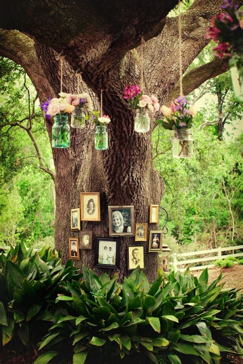 tree outdoor decorations exquisite outdoor wedding d 233 cor ideas decozilla