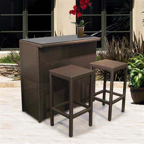 bar set patio furniture patio furniture bar set roselawnlutheran