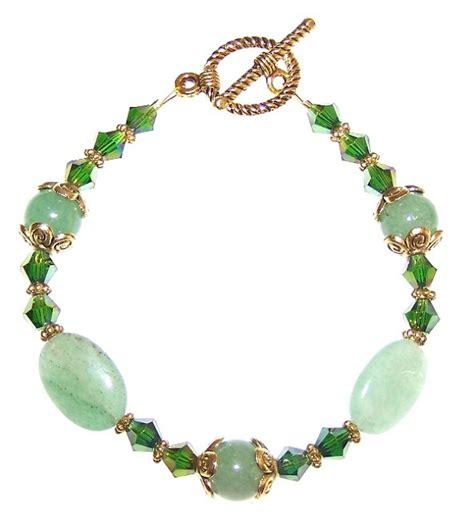 bead jewelry kits emerald elegance bracelet beaded jewelry kit
